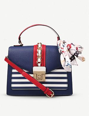 cf3cbc9b72a ALDO · Glendaa faux-leather cross-body bag · ALDO Disspain chain-detail ...