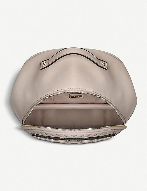 ALDO Spiros faux-leather backpack