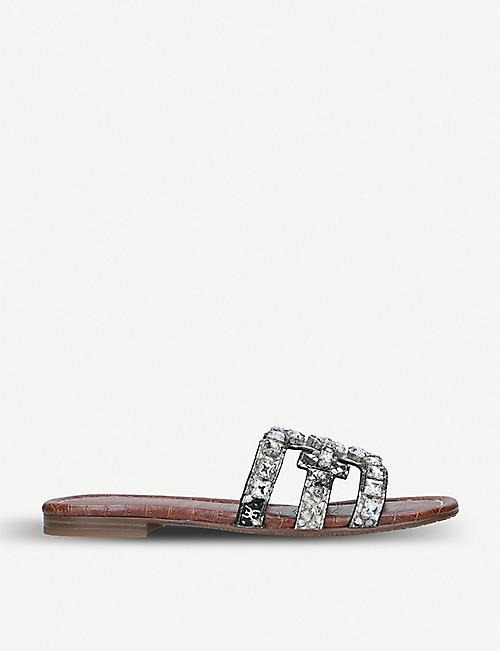 042d5be5c87 SAM EDELMAN Bay embellished leather sandals
