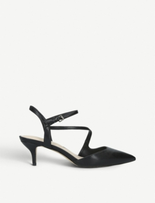 ALDO Caderivia faux-leather kitten heel courts