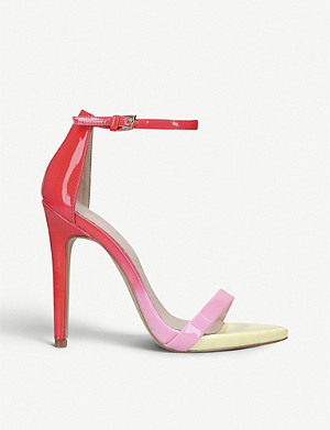 ALDO Caraa faux-leather stiletto sandals