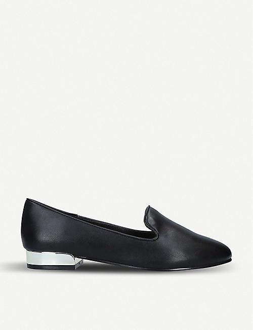 8781d8abcdc ALDO Dwiarwen metallic heel faux-leather loafers