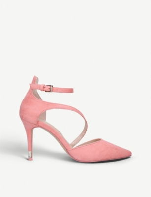 ALDO Vetrano pointed-toe faux suede stiletto heels