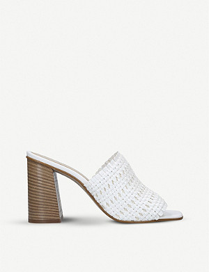 ALDO Lirella faux-leather mule sandals