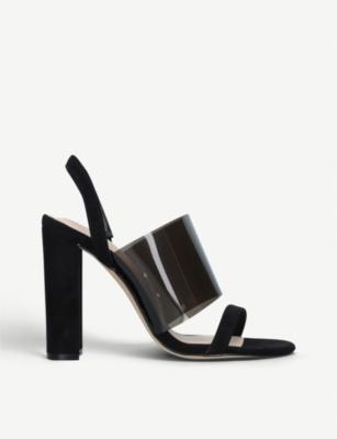 ALDO Galilisa perspex high-heel sandals