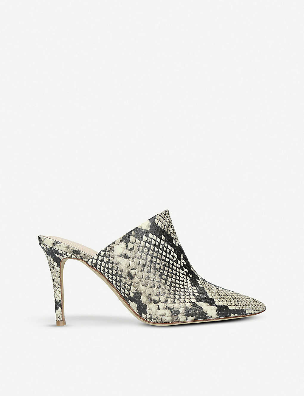 7a3d74d7f ALDO - Mirudien snakeskin-print pointed leather mules | Selfridges.com