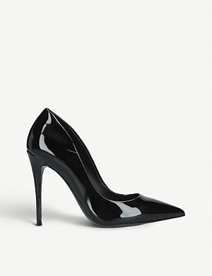 ALDO Stessy patent-leather heeled courts