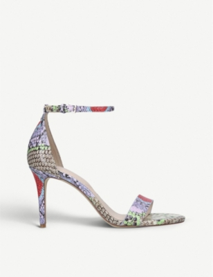 ALDO Piliria snake-embossed faux-leather sandals