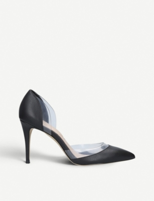 ALDO Paven faux-leather pointed-toe heels