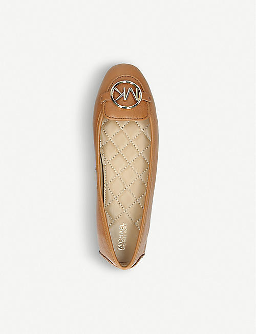 MICHAEL MICHAEL KORS Lillie leather ballet flats