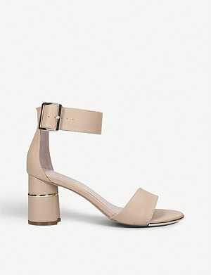 CARVELA Grape faux-leather sandals