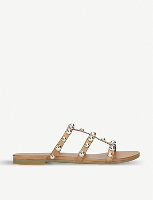 CARVELA Kaddie faux-leather gladiator sandals