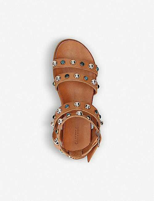 CARVELA King studded leather sandals