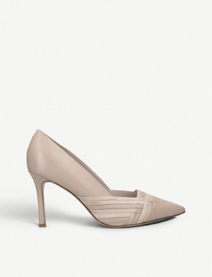NINE WEST Eugene leather court shoes