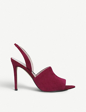 NINE WEST Guthrie suede heeled sandals