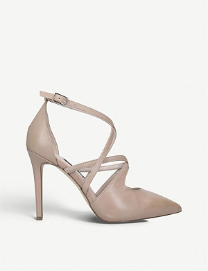 NINE WEST Tuluiza leather court shoes