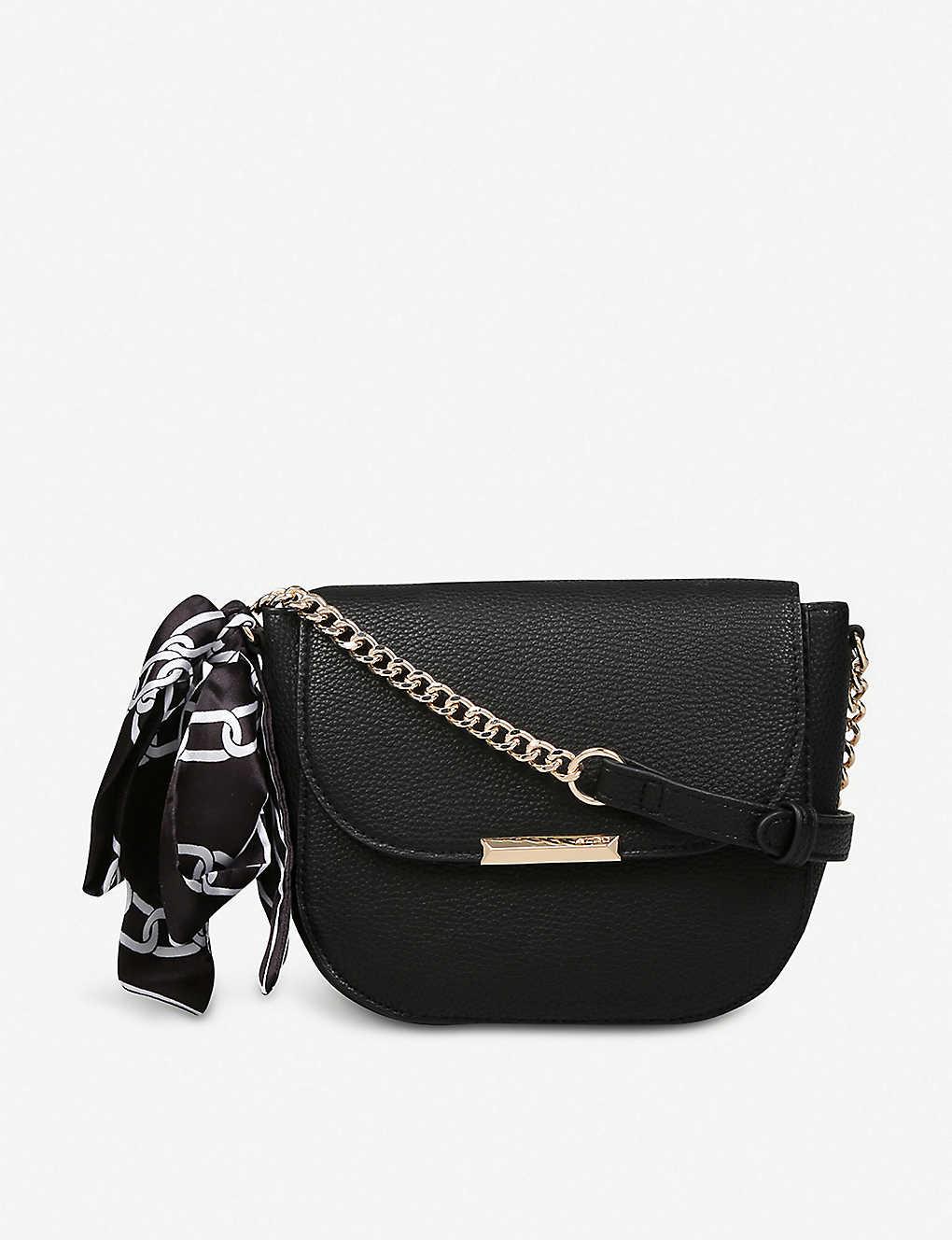 8b214db827d ALDO - Disspain chain-detail faux-leather bag | Selfridges.comm