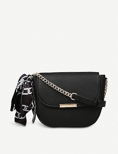 9ed525c6aa5 ALDO Disspain chain-detail faux-leather bag