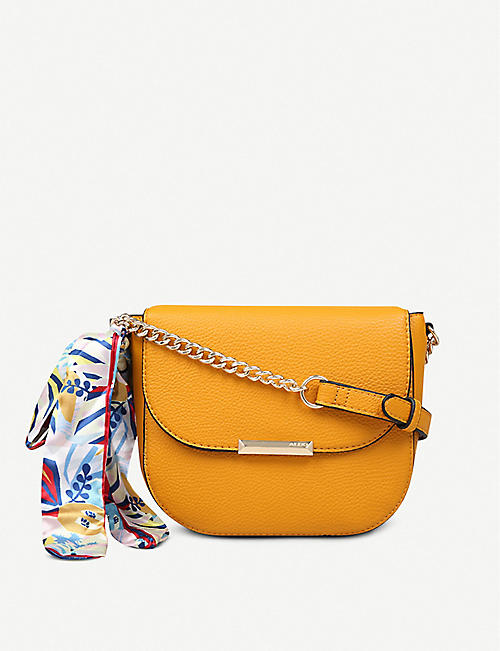 27e8fd75916 ALDO Disspain chain-detail faux-leather bag