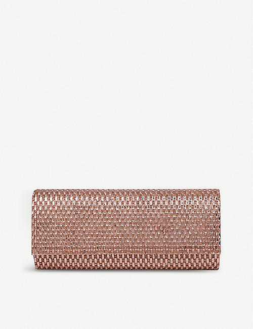 390144f0b82 ALDO Montelibretti embellished clutch with chain strap