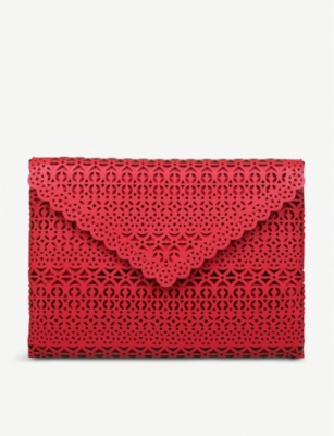 ALDO Yberien cutout detail clutch