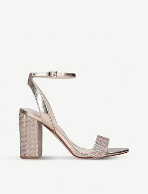 ALDO Agriedia embellished metallic sandals