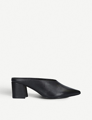 ALDO Asirari block-heel leather mules