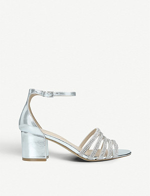 ALDO Ceviel embellished metallic sandals