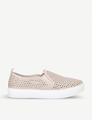 ALDO Claerka faux-leather slip-on trainers