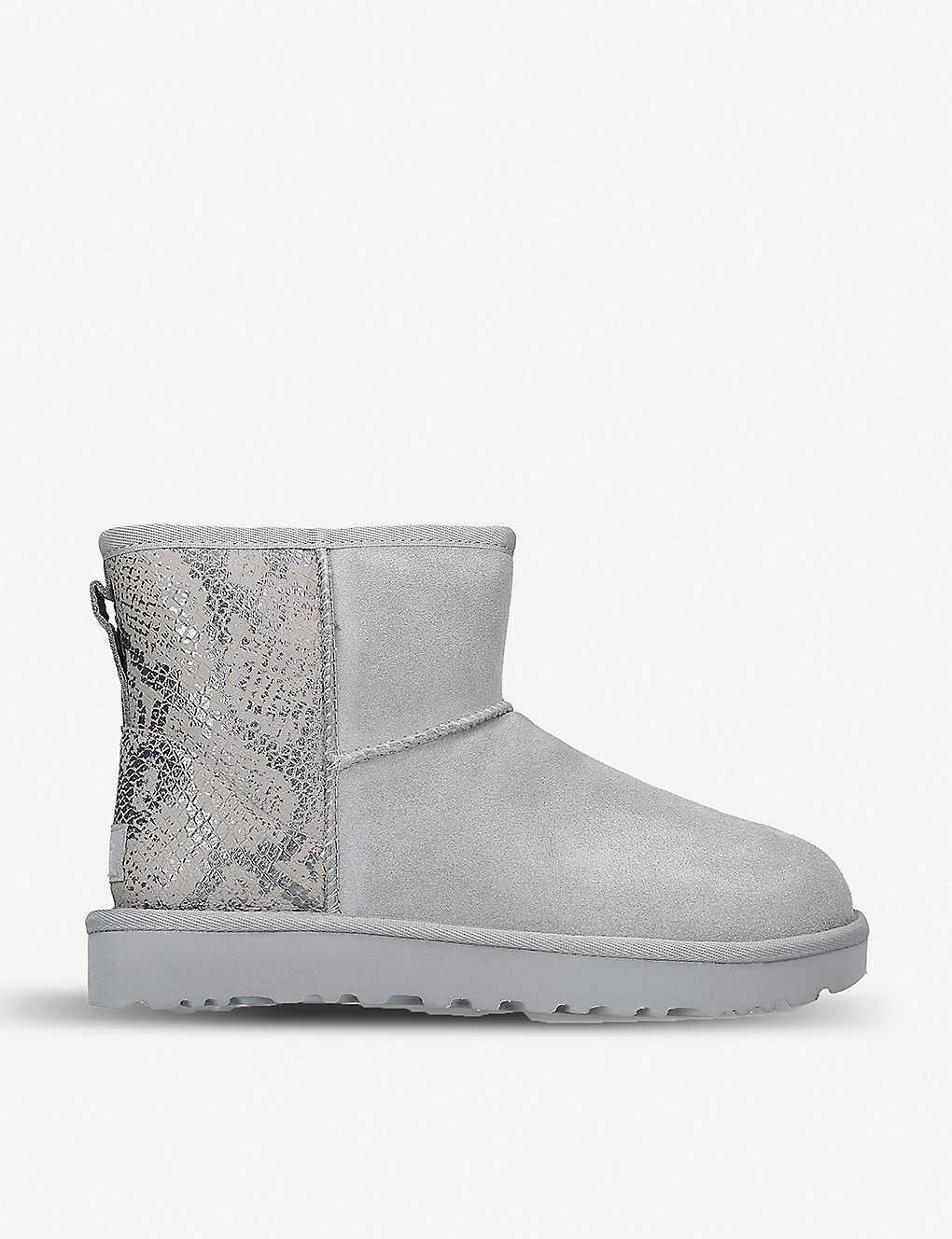 ugg classic mini snake boot