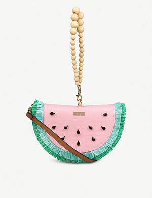ALDO Binjai canvas crossbody clutch