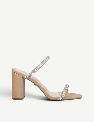 KG KURT GEIGER Fabiene embellished backless sandals