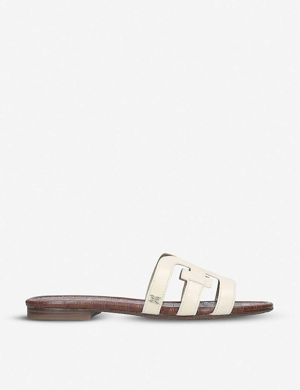 Leather Sam E Sandals Bay Double Edelman PkuTZiwOX
