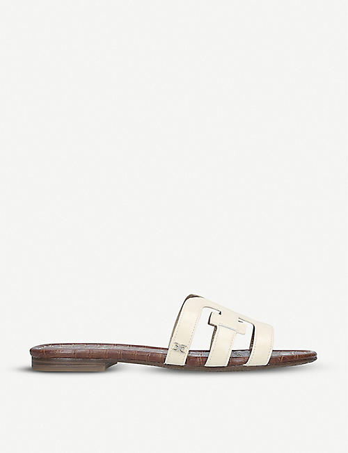 SAM EDELMAN Bay double E leather sandals