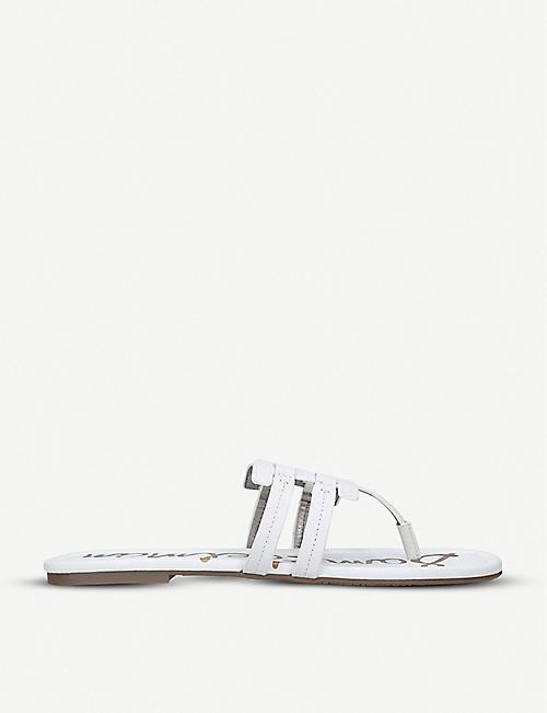0af80e989 SAM EDELMAN Cara leather sandals