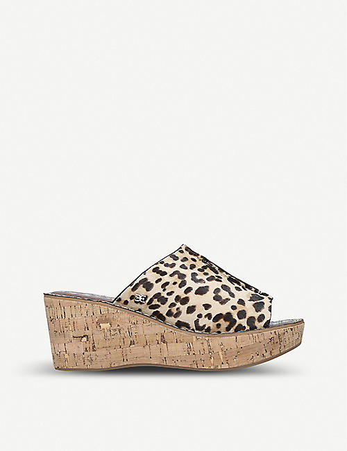 SAM EDELMAN Ranger wedge sandals