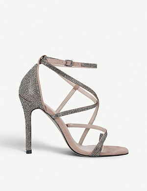 CARVELA Ginger metallic sandals