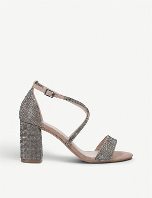 CARVELA Girls embellished woven sandals