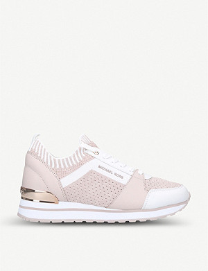 MICHAEL MICHAEL KORS Billie stretch-knit trainers