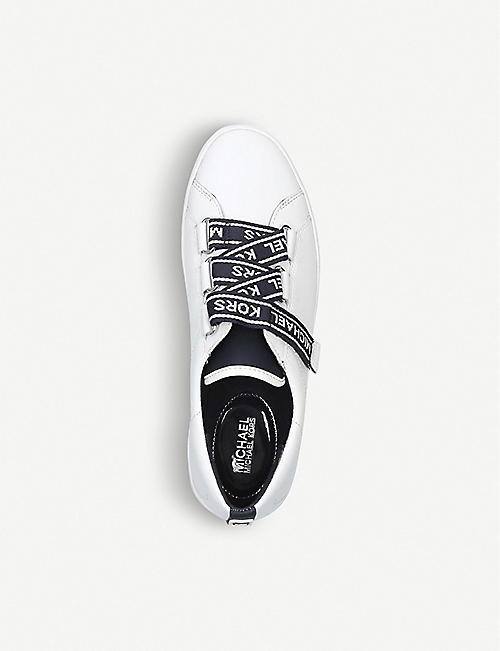 MICHAEL MICHAEL KORS Casey logo-tape leather trainers