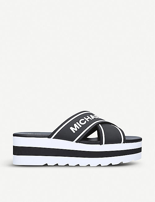 Michael Kors Shoes TrainersFlatsSandalsSelfridges Shoes Kors Michael 5Rqj43AL