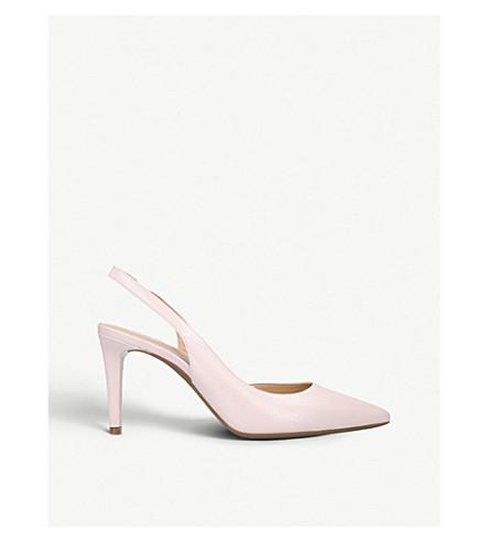 d3fbf6a6a6b MICHAEL MICHAEL KORS Lucille Flex leather slingback courts (Pale+pink