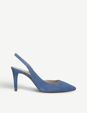 MICHAEL MICHAEL KORS Lucille Flex leather heeled courts