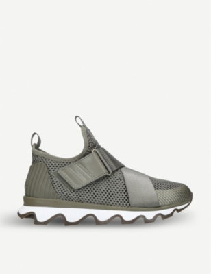 SOREL Kinetic metallic-strap trainers