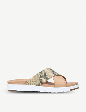 UGG Kari Exotic strappy leather sandals