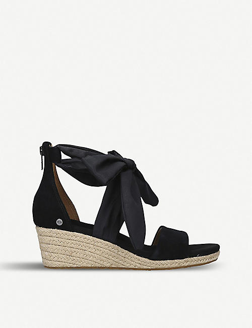 UGG Trina suede wedge sandals