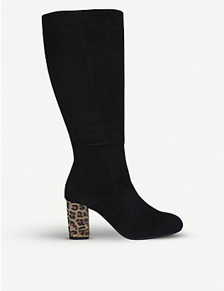 CARVELA COMFORT: Veil suede knee-high boots