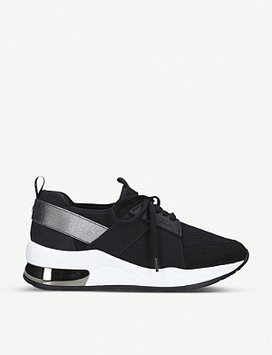 CARVELA Jetson lace-up textile trainers