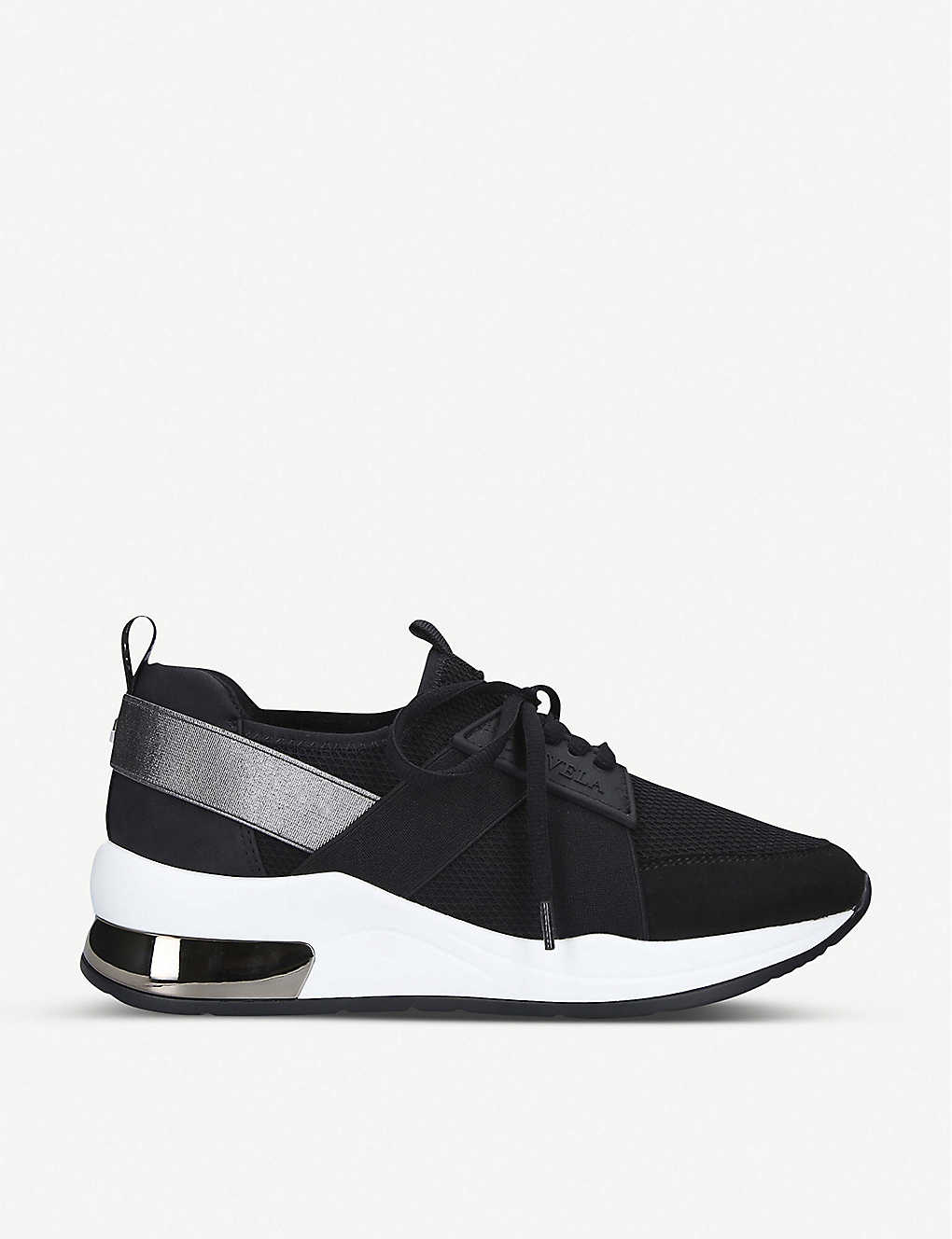CARVELA: Jetson lace-up textile trainers