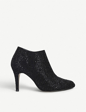 CARVELA Serene jewel-embellished ankle boots